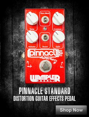 Pinnacle Standard Distortion Guitar Effects Pedal