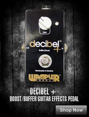 Decibel + Boost/Buffer Guitar Effects Pedal