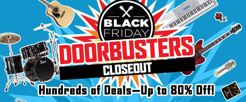 Black Friday Doorbusters Closeouts