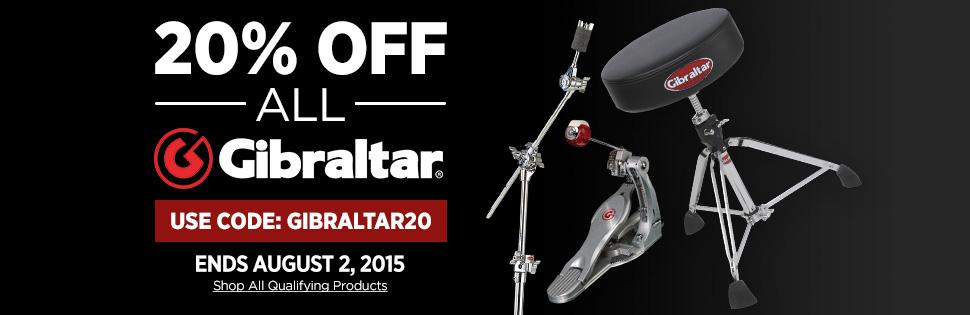 Gibraltar 20% Off Sale