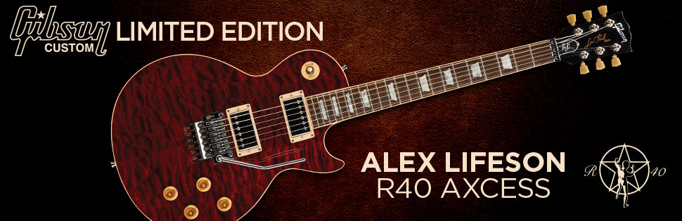 Hot Or Not Gibson Custom Alex Lifeson R40 Les Paul