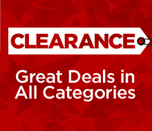 CLEARANCE Great Deals in All Categories